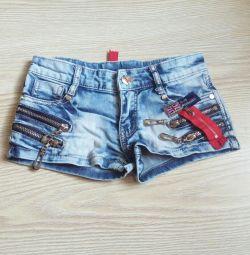 Denim shorts for girl