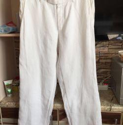 Soțul de in. Pantaloni HUGO BOSS ORIGINAL !!!