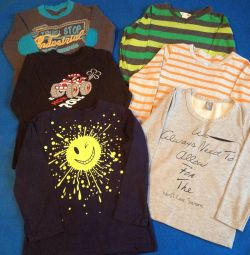 T-shirts for 4-5 years