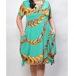 Новое платье,размер 56-58
