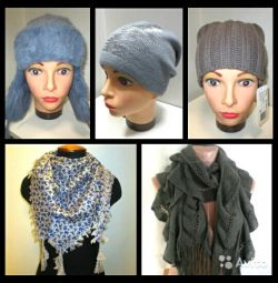 New hats, scarf and scarf