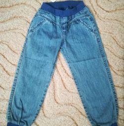 Jeans noi pe o banda elastica