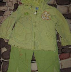 Costum primăvara-toamnă la vârsta de 9 până la 24 de luni