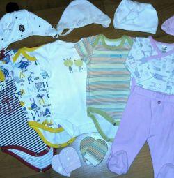 Μωρό σώμα 0-3 μήνες.