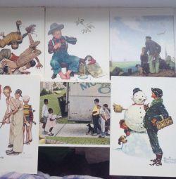 Cărți poștale Norman Rockwell