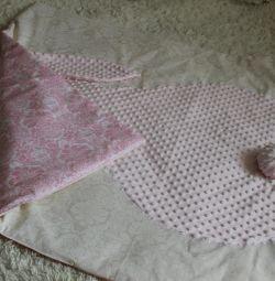 Pătură de pluș personalizată