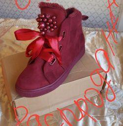 Χειμερινές μπότες γυναικών