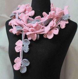 Новый дизайнерский шарф/украшение ручная работа