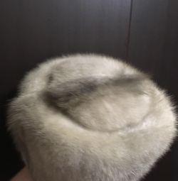 Pălărie albastră de nurcă