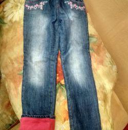 джинси утеплeнние