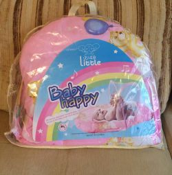 Baby mattress with mosquito net bag