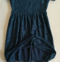 Blue lace dress, p-44 (46)