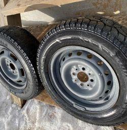 Зимние колёса на ваз r13