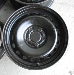 Stamped wheels Nissan Qashqai 4 pieces