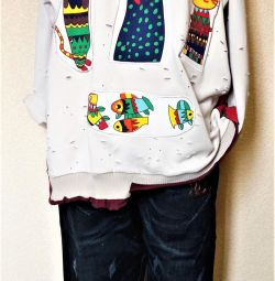 Designer jeans / sweatshirt 54-56