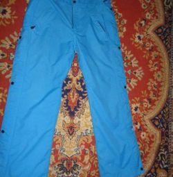snowboard pantaloni