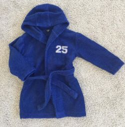 Dressing gown terry 98-104-110