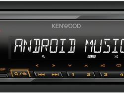 Receptor media Kenwood KMM-105AY USB / AUX