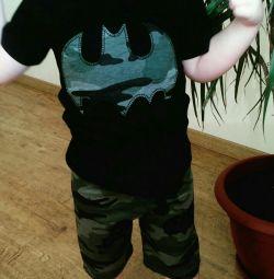 Costume Shorts Batman T-Shirt