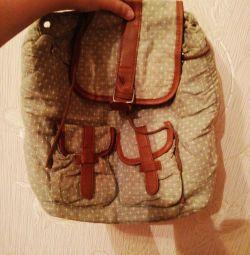 Маленький рюкзачок. Текстиль