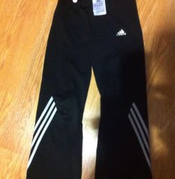Adidas trousers, used, on a boy of 5-6 years, height 115.