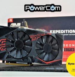 Video card asus Radeon RX 570 4Gb 256bit + hdmi