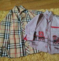 Tricouri noi / bluze 1 și 5g