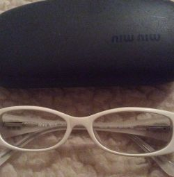 Glasses without diopters?miu miu