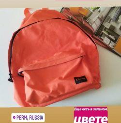 Оранжевый портфель