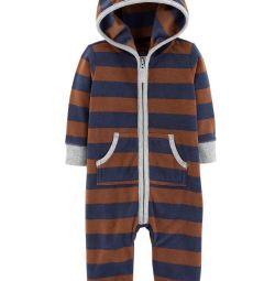 New Carters Fleece Jumpsuit (18,12,9,6,3 m)