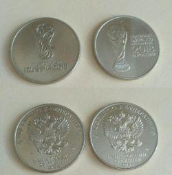 25 ρούβλια