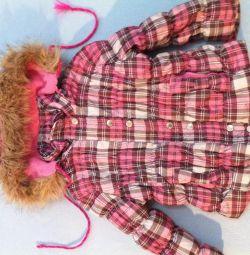 Warm jacket used on 2-4g