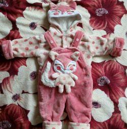 Children's warm suit