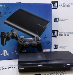 PlayStation 3 Super Slim (500gb) + Free Game!