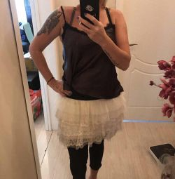Нарядная многослойная юбка/пачка 44-48