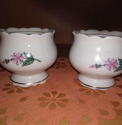 Мелкие вазочки