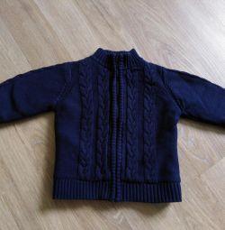 Geacă tricotată caldă