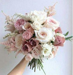 Gelin buketi, bir kutu çiçek, çiçekler