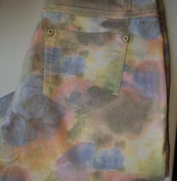 Italian pants, length 7/8