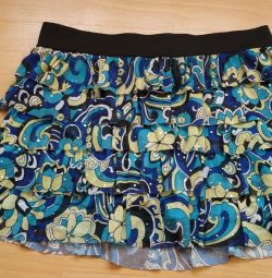 Skirts with shorts for 14-16 years