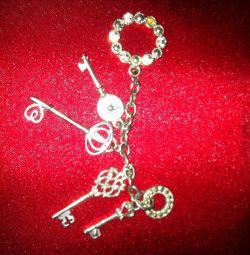 Costume jewelry charms