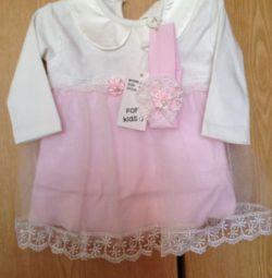 Новое платье 62-68