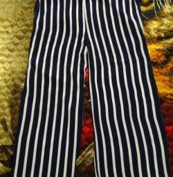 Blue les copains trousers