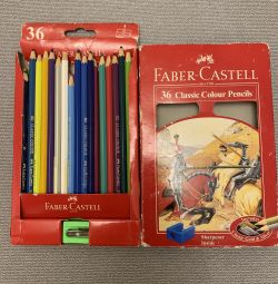 Карандаши цветные Faber Castell 36 Knight Design