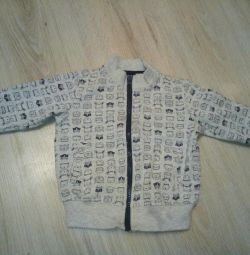 Bluză blugi Gloria p. 6-12 luni.