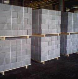 SLAG BLOCKS, SEMI-BLOCKS - delivery, unloading