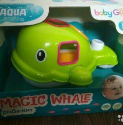 Sıralayıcısı ve banyo oyuncak 2 in 1