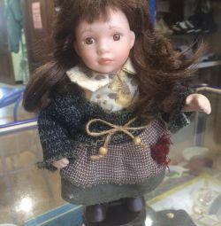 Σκωτσέζικη κούκλα πορσελάνης