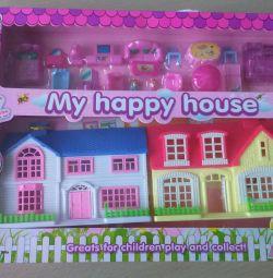 Будиночок НОВИЙ з меблями і фігурками