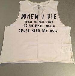 Kolsuz gömlekli tişört